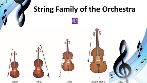 Thumbnail for entry String Family Video