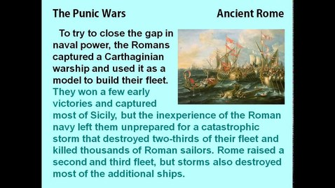 Thumbnail for entry Hannibal and the Punic Wars - reading lesson for kids
