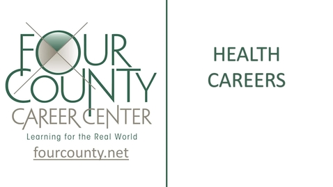 Thumbnail for entry 2021 FCCC - Health Careers