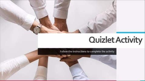 Thumbnail for entry Quizlet Instructions