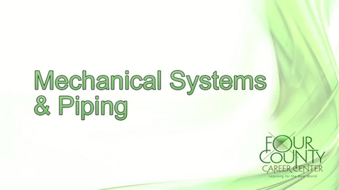 Thumbnail for entry FCCC - Mechanical Systems & Piping 2017