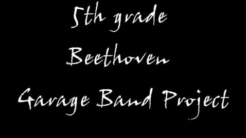 Thumbnail for entry Garage Band & Beethoven