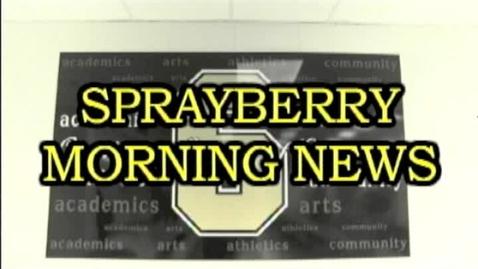 Thumbnail for entry Morning News5-15-13