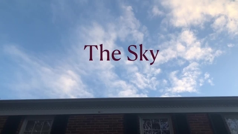 Thumbnail for entry The Sky Is Never The Limit
