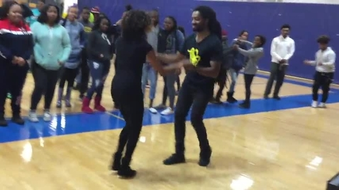 Thumbnail for entry Salsa Dancing at Riverview Gardens High School