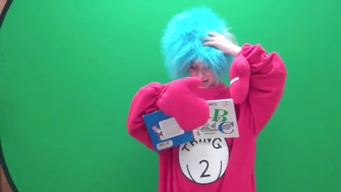 Thumbnail for entry Green Screen and Hams (Spring 2013)