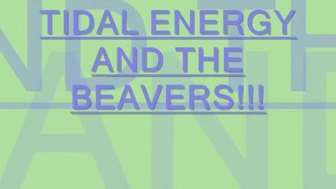 Thumbnail for entry Tidal Energy