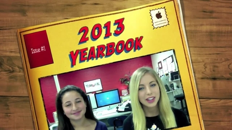 Thumbnail for entry 2013 Yearbook Sales