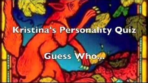 Thumbnail for entry Kristina Person