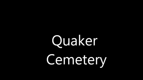 Thumbnail for entry Quaker Cemetery