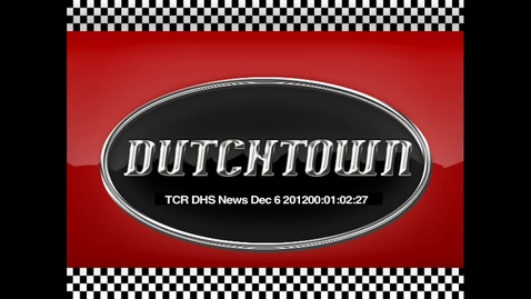 Thumbnail for entry DHS News Dec 6, 2012