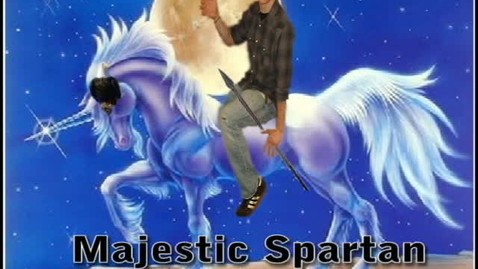 Thumbnail for entry majestic unicorns and spartan