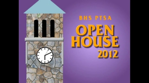 Thumbnail for entry PTSA Open House 2012 - 2013