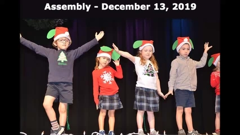 Thumbnail for entry Assembly - December 13, 2019