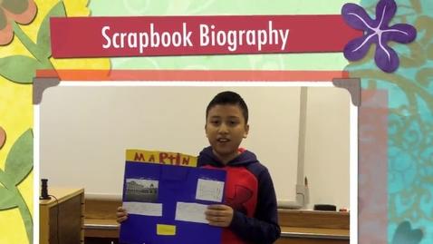 Thumbnail for entry Erik's Scrapbook Biography