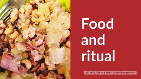 Thumbnail for entry Folklife 101 Episode 7: Things We Eat