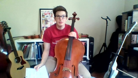 Thumbnail for entry Week 5: 3rd Grade Cello Lesson