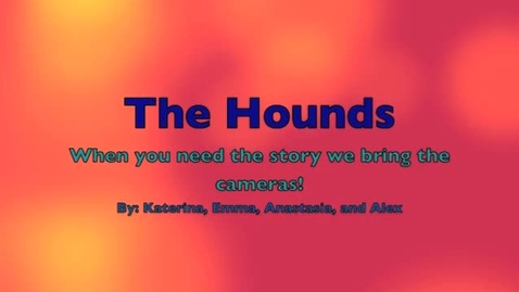 Thumbnail for entry The Hound