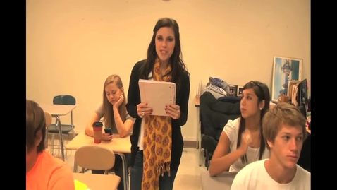 Thumbnail for entry NBHS Today   Friday - October 12, 2012
