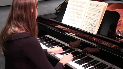 Thumbnail for entry John Cage - Sonata V (from Sonatas and Interludes) - Inara Ferreira, prepared piano