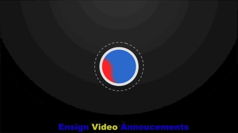 Thumbnail for entry Ensign Intermediate Video Announcements 3/28/16