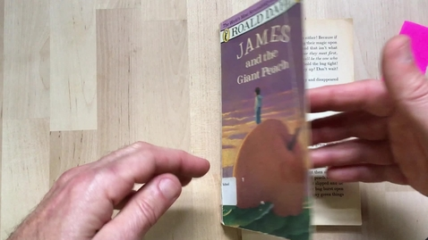 Thumbnail for entry Read Aloud  ch 5-8 James and Giant Peach 4-30-20