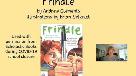 Thumbnail for entry Frindle Chapter 3
