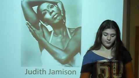 Thumbnail for entry Judith Jamison