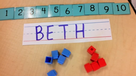 Thumbnail for entry Math: Counting the letters in your name