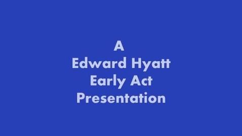 Thumbnail for entry 2013 Edward Hyatt Elementary School Science Fair-