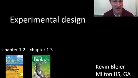 Thumbnail for entry Experimental design