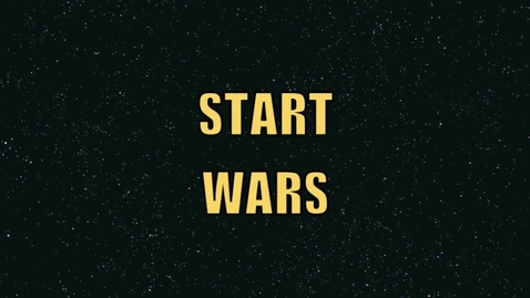 Thumbnail for entry Cameron's and Avery's Start Wars Video
