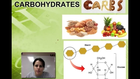 Thumbnail for entry Ch. 2B - Carbohydrates