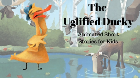 Thumbnail for entry The Uglified Ducky (Animated Stories for Kids)