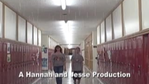 Thumbnail for entry A Hannah and Jesse Production