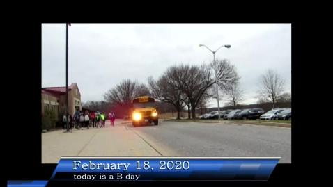 Thumbnail for entry WHMS Morning Show Feb 18, 2020