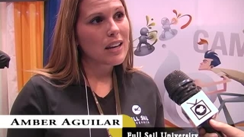 Thumbnail for entry Amber Aguilar: Full Sail University