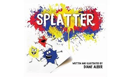 Thumbnail for entry Splatter -  by Diane Alber - Read Aloud & Art Lesson for Kids - story time any time-children's books