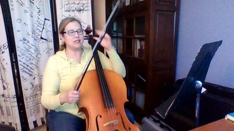 Thumbnail for entry 6th GR Cello Str Basics Bk 1         Pg 40-41 Week 7
