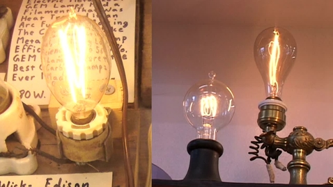 Thumbnail for entry Part 2: The Incandescent Lamp