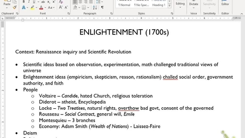 Thumbnail for entry Euro Review 7: Enlightenment