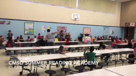 Thumbnail for entry CMSD Summer Reading Academy
