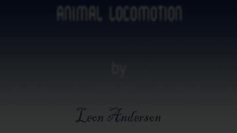 Thumbnail for entry Animal Locomotion