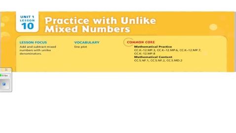 Thumbnail for entry Unit 1 lesson 10 video 1