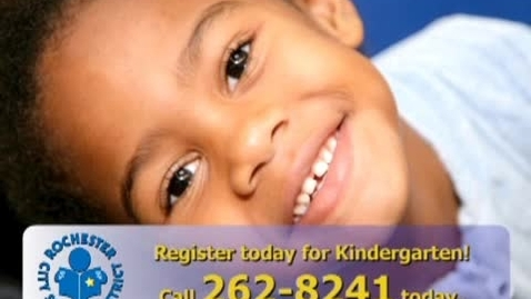 Thumbnail for entry Kindergarten Choice PSA 2008 - Rochester City School District
