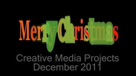 Thumbnail for entry 111212 Holiday Postcards from Krueger Middle School