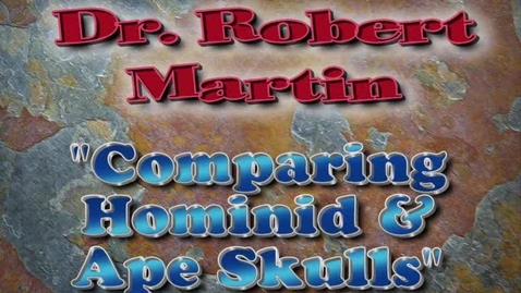 Thumbnail for entry Comparing Hominid Skulls with Dr. Robert Martin
