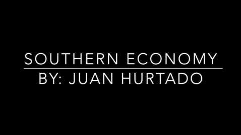 Thumbnail for entry Southern Economy