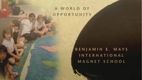 Thumbnail for entry Mandarin Immersion at Benjamin E. Mays Magnet School