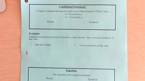 Thumbnail for entry 2.1 - Conditional Statements